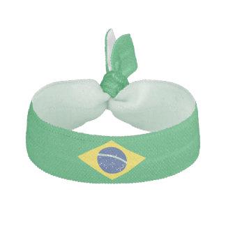 Brazil Flag Hair Tie