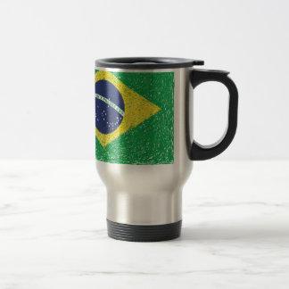 Brazil Flag *Hand-sketch* Brazilian Travel Mug