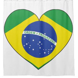Brazil Flag Heart