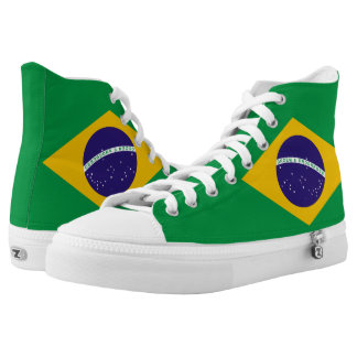Brazil Flag High Tops