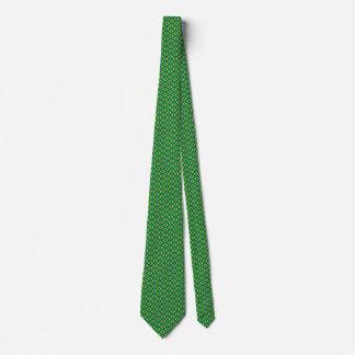 Brazil Flag Honeycomb Tie