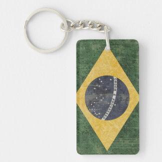 Brazil Flag Key Chain Souvenir