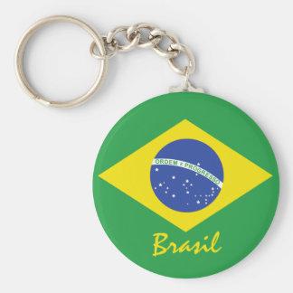 Brazil Flag Keychain