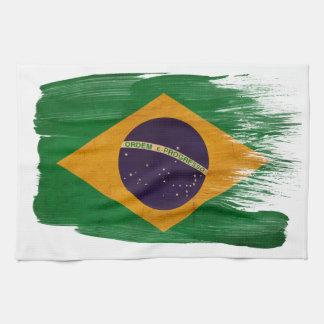 Brazil Flag Kitchen Towels