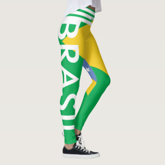 BRAZIL FLAG LEGGINGS HAVIC ACD