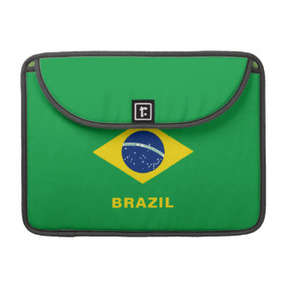 Brazil Flag MacBook Sleeve Pro