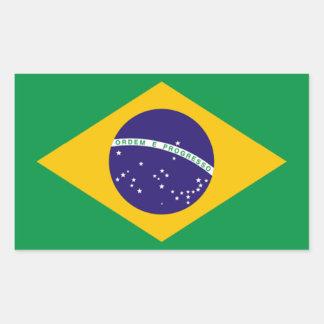 Brazil: Flag of Brazil Sticker