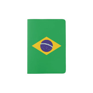 Brazil Flag Passport Holder