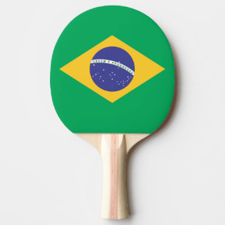 Brazil flag quality ping pong paddle