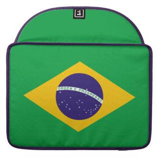 Brazil Flag Sleeve For MacBook Pro