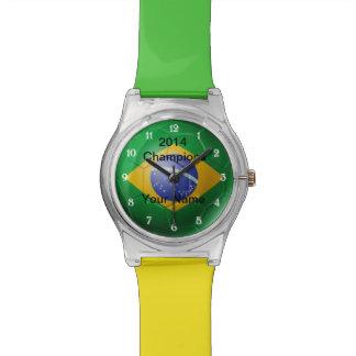 Brazil Flag Soccer May28th Watch