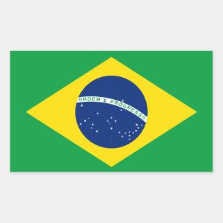 Brazil* Flag Sticker
