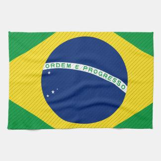 Brazil Flag Towel