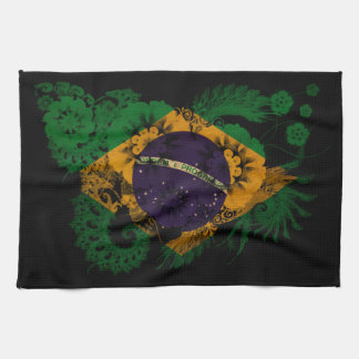 Brazil Flag Towels