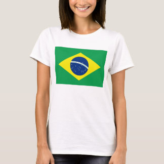 Brazil Flag x Map T-Shirt