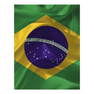 brazil-Flags Letterhead