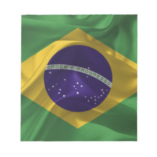 brazil-Flags Notepad