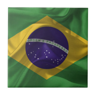 brazil-Flags Tile
