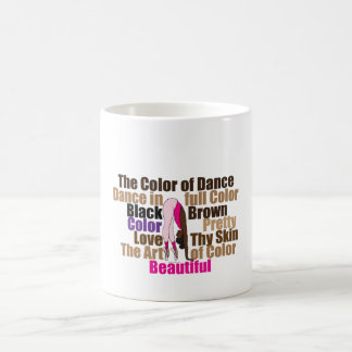 Brazil Fralis Ballerina Color of Dance Mug