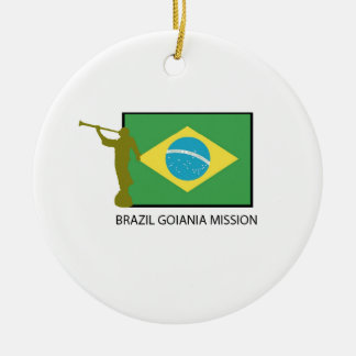 BRAZIL GOIANIA MISSION LDS CERAMIC ORNAMENT