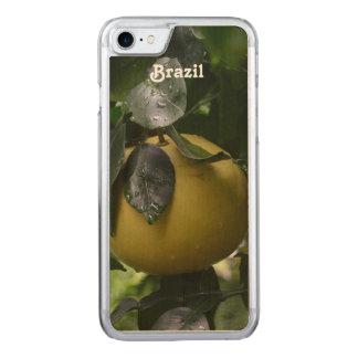 Brazil Grapefruit Carved iPhone 8/7 Case