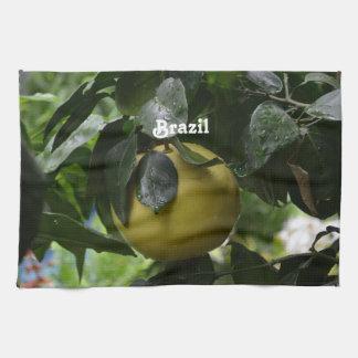 Brazil Grapefruit Kitchen Towels