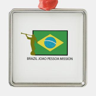 BRAZIL JOAO PESSOA MISSION LDS METAL ORNAMENT