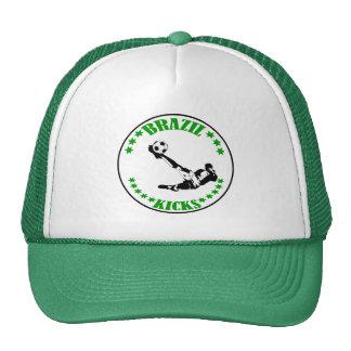 BRAZIL KICKS TRUCKER HAT