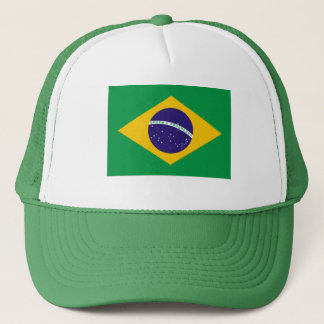 Brazil National Flag Trucker Hat