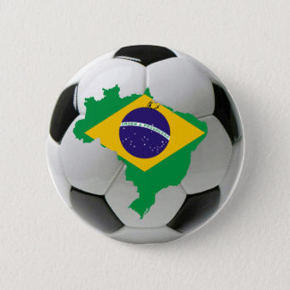 Brazil national team 2 inch round button