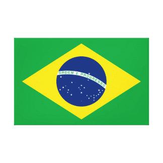 Brazil National World Flag Canvas Print