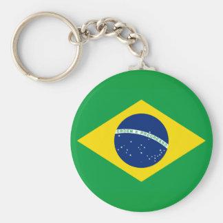 Brazil National World Flag Keychain