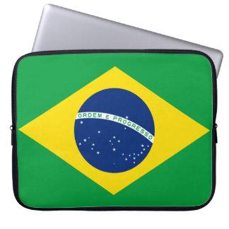 Brazil National World Flag Laptop Sleeve