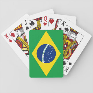Brazil National World Flag Playing Cards