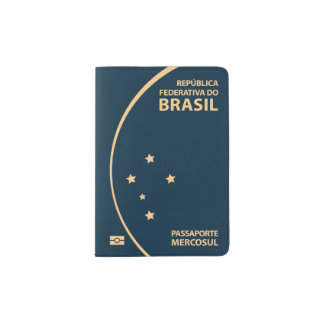 Brazil Passport Cover
