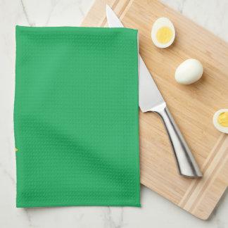 Brazil Plain Flag Hand Towels