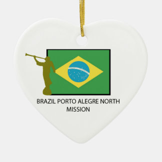 BRAZIL PORTO ALEGRE NORTH MISSION CERAMIC ORNAMENT
