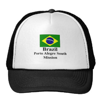 Brazil Porto Alegre South Mission Hat