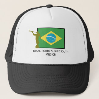 BRAZIL PORTO ALEGRE SOUTH MISSION LDS TRUCKER HAT