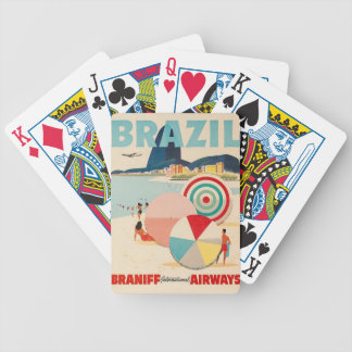brazil poster bicycle playing cards