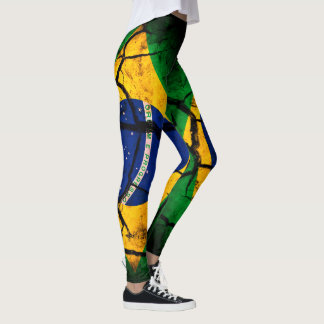 Brazil Pride Leggings