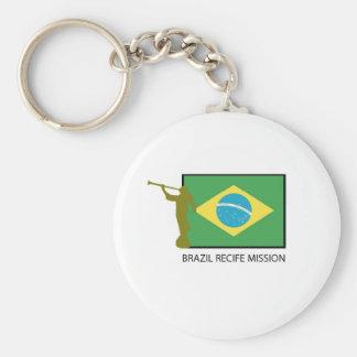 BRAZIL RECIFE MISSION LDS KEYCHAIN
