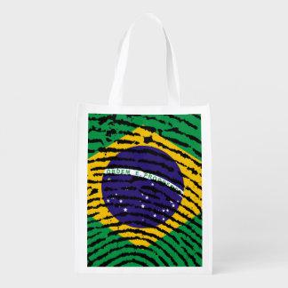 Brazil Reusable Grocery Bag