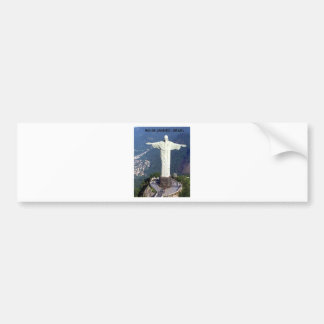 Brazil Rio De Janeiro Jesus (new) (St.K) Bumper Sticker