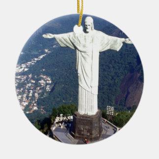 Brazil Rio De Janeiro Jesus (new) (St.K) Ceramic Ornament