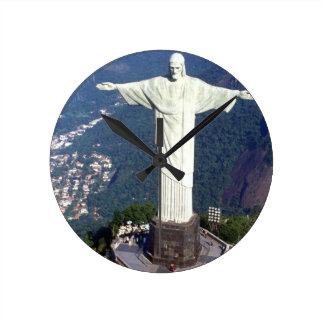 Brazil Rio De Janeiro Jesus (new) (St.K) Round Clock
