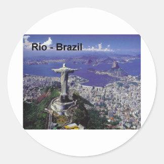 Brazil Rio De Janeiro (St.K.) Classic Round Sticker