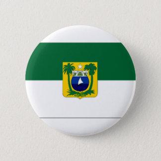 Brazil Rio Grande do Norte Flag 2 Inch Round Button