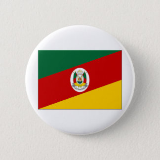 Brazil Rio Grande do Sul Flag 2 Inch Round Button