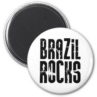 Brazil Rocks Magnet